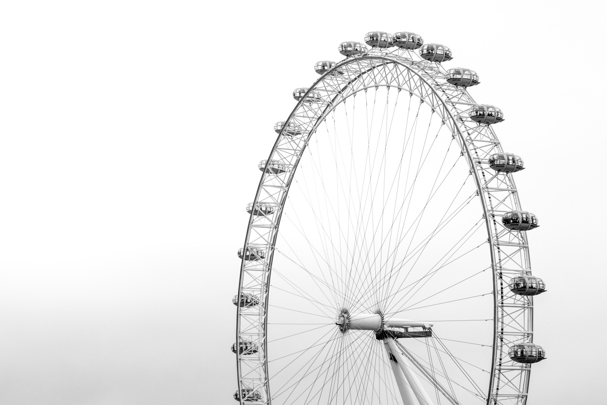 Photo of a ferris wheel loop