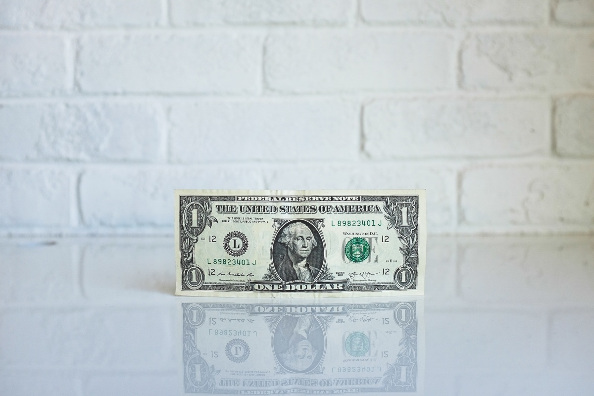 Photo of a dollar bill