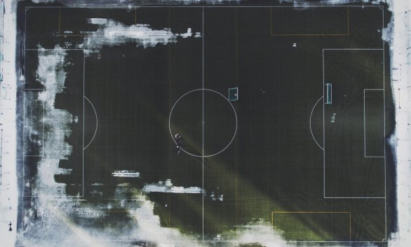 Photo of a soccer field